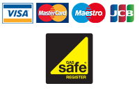 Payment Methods We Accept and We Are Gas Safe Registered